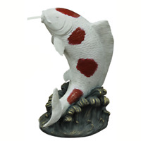 Bermuda Charming Pond Ornament, Spitting Animals, Beautifully Crafted - Koi Carp