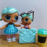 Real 2pcs Lol surprise doll Big sister  Brrr B.B SERIES 2 & LIL toy gift