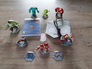 Lot Disney Infinity 3.0 sur PS3 avec 7 figurines, 1 monde et 2 power discs
