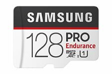 SAMSUNG Pro Endurance U1 100MB/s Read Flash Memory Card 128 GB Micro SD New sm