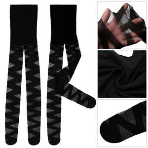 Goth Rocker Cross Bandage Women Lingerie Thigh Stockings Yoga Tights Stockings