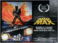 MAD MAX Affiche Cinéma GEANTE / WIDE Movie Poster MEL GIBSON 400x320
