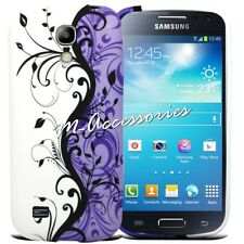 FLORAL SILICONE/GEL CASE COVER FOR SAMSUNG GALAXY S4 MINI GT-I9190,I9192,I9195