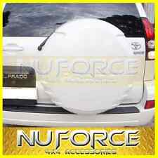 Toyota Prado 120S (2003-2009) White Spare Wheel Cover / Spare Tyre Cover