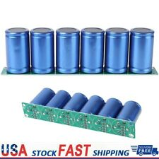 6pcs Farad Capacitor 27v 500f 3560mm Super Capacitor With Protection Board