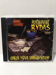 Psychopathic Rydas CD Check Your Sh*t in B*tch! ICP Insane Clown Posse Twiztid