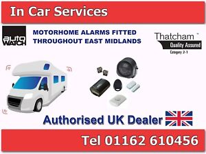MOTORHOME ALARM SYSTEM PEUGEOT/CITROEN/FIAT/RENAULT/MERCEDES SUPPLIED AND FITTED