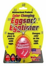 Eggsact Color Changing Egg Timer Hard Soft Boiled Boil - Changes Colors As Cooks