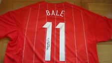 WELSH INTERNATIONAL SHIRT HAND SIGNED BY GARETH BALE AUTOGRAPH GREAT VALUE £150