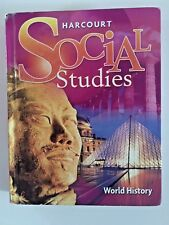 Harcourt Social Studies: World History 2007 Hardcover 0153542365 USED Good