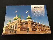 2009 CORN PALACE Mitchell South Dakota Postcard Dan Grigg Images Postmarked