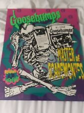 Goosebumps School Binder Folder  Reading Is A Scream