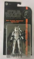 STAR WARS CLONE TROOPER SERGEANT BLACK SERIES #02 ACTION FIGURE NEW RARE EMPIRE