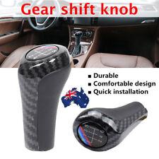 AU Carbon Fiber Car Shifter 5/6 Speed Manual Car Gear Shift Knob For BMW E46 E53