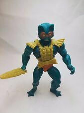 Vintage MOTU Masters of the Universe Mer-Man figure 100% Complete