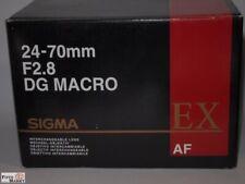 Sigma EX Zoom-Objektiv 24 - 70 mm F2,8 DG Macro Canon EF digital Ø 82mm