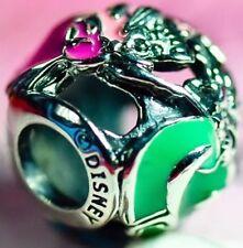 Genuine Pandora Pink Green Aurora's Fairy Godmothers Disney Charm S925 ALE