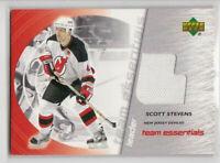 2002-03 UD Team Essentials Jersey Scott Stevens