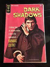 Dark Shadows Tv Series Comic #2 Gold Key 1969 Fine