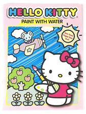 Hello Kitty Paint With Water 2 Coloring Book For Kids Ages 3