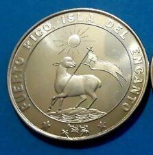 450 Años SAN JUAN 1521-1971 PUERTO RICO ISLA DEL CORDERO German Silver Alloy