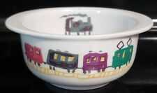 Langenthal Suisse Ceramic Modele Depose Train Handled Bowl