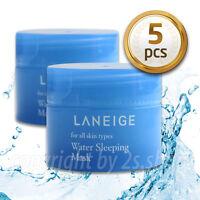 [LANEIGE] Water Sleeping Mask Pack 15ml X 5 pcs Moisturizing