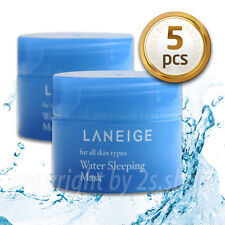 [LANEIGE] Water Sleeping Mask Pack 15ml X 5 pcs Moisturizing