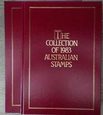 Australien Australia Jahrbuch The Collection of 1983 Australian Stamps **