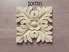 Square Resin Decorative Applique Carving Moulding Shabby Chic Inlay