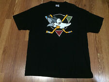 mens yote mighty ducks shirt for jordan 7 bordeaux sz XXL