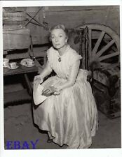 Agnes Moorehead Photo from Original Negative Wagon Train Ep: Mary Halstead Story