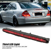 Tail Rear third 3RD Red LED STOP BRAKE LIGHT LAMP FOR Mercedes Benz E-Class W211