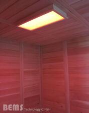 LED RGB Saunaleuchte Saunafarblicht Beleuchtung für Sauna Lumina M helle Espe