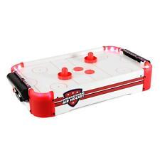 Mini Air Hockey Tisch mit LED Airhockey Lufthockey Tischhockey Reisespiel