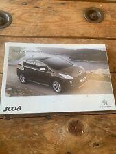 Manuel Notice D Utilisation Peugeot 3008