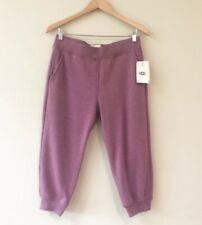 UGG Hadley Purple Cropped Jogger Pants Size L NWT $78