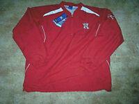 Mens Medium Jacket Mizuno Jacket Windbreaker WaterResistant Red Jacket Windproof