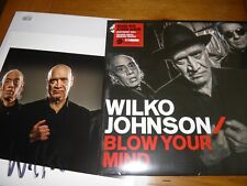 Wilko Johnson - SIGNED ART PRINT & VINYL SEALED Blow Your Mind