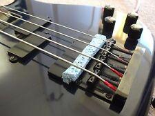 MUTE-Aid chitarra basso mute-trasforma il tuo ELECTRIC BASS in un doppio basso - 5 Confezione