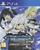 IS IT WRONG TO TRY TO PICK UP GIRLS IN A DUNGEON? PS4 GAME
