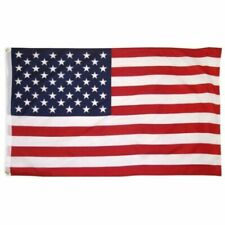3'X5' Ft Cotton USA Flag indoor Outdoor