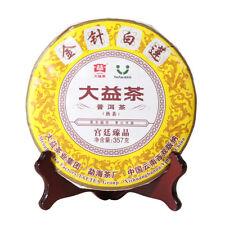 2018 Pu Er Menghai Dayi Golden Needle White Lotus Puer Pu-erh Ripe Tea 357g 1801
