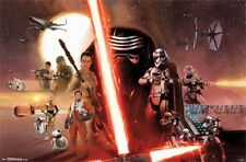 Star Wars The Force Awakens Group Poster 22x34 T14014
