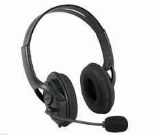 2x Black Deluxe Headset Headphone With Microphone for Xbox 360 Live UK SELLER