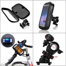 CUSTODIA IMPERMEABILE PER Huawei Ascend G6 SUPPORTO MANUBRIO BICI Biciclett MOTO