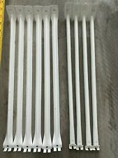 """Lot X 10 Closet Maid Metal Support Bracket for Wire Shelving White 16"""" - 17"""""""