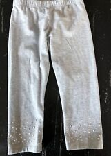 EUC Sonoma Jeweled Capri Leggings Size 7/8