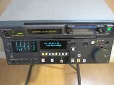 PANASONIC DIGITAL VIDEO CASSETTE RECORDER AJ-D940 tape adapter SDI & AES Slo-Mo