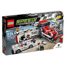 75876 LEGO PORSCHE 919 Ibrido & 917K Pit Lane SPEED CHAMPIONS Nuovo di zecca in pensione
